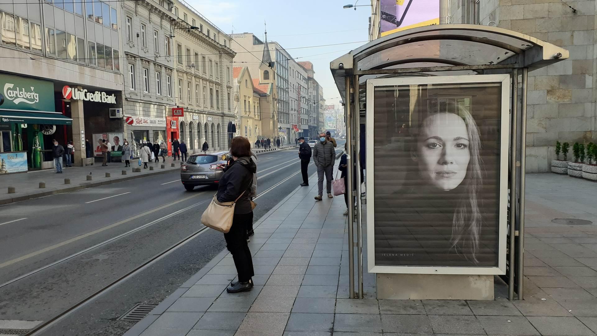 izložba, bilbordi, Jelena Medić