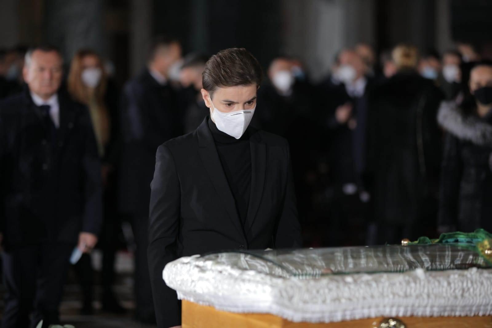 sahrana irinej patrijarh političari