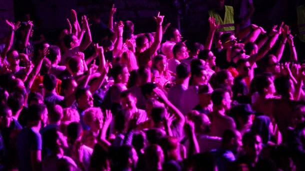 koncert, ljudi, kastel