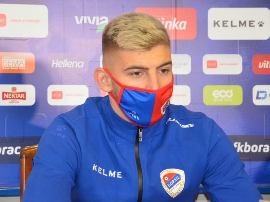 Jovo Lukić, Borac, FK Borac