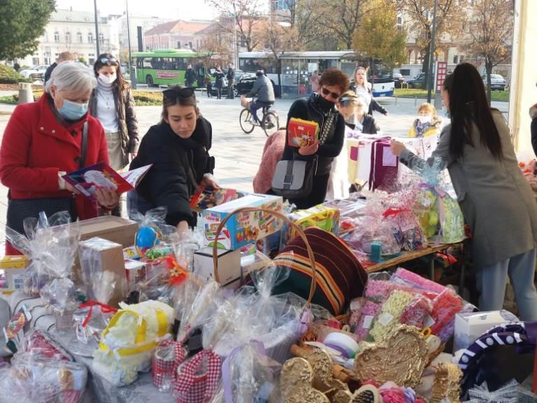minja, bazar, humanitarna akcija