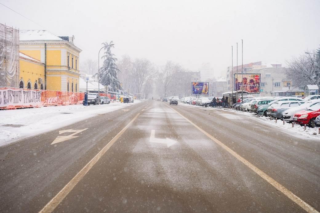 banjaluka, snijeg, sneg, Gospodska, Banski dvor, zima