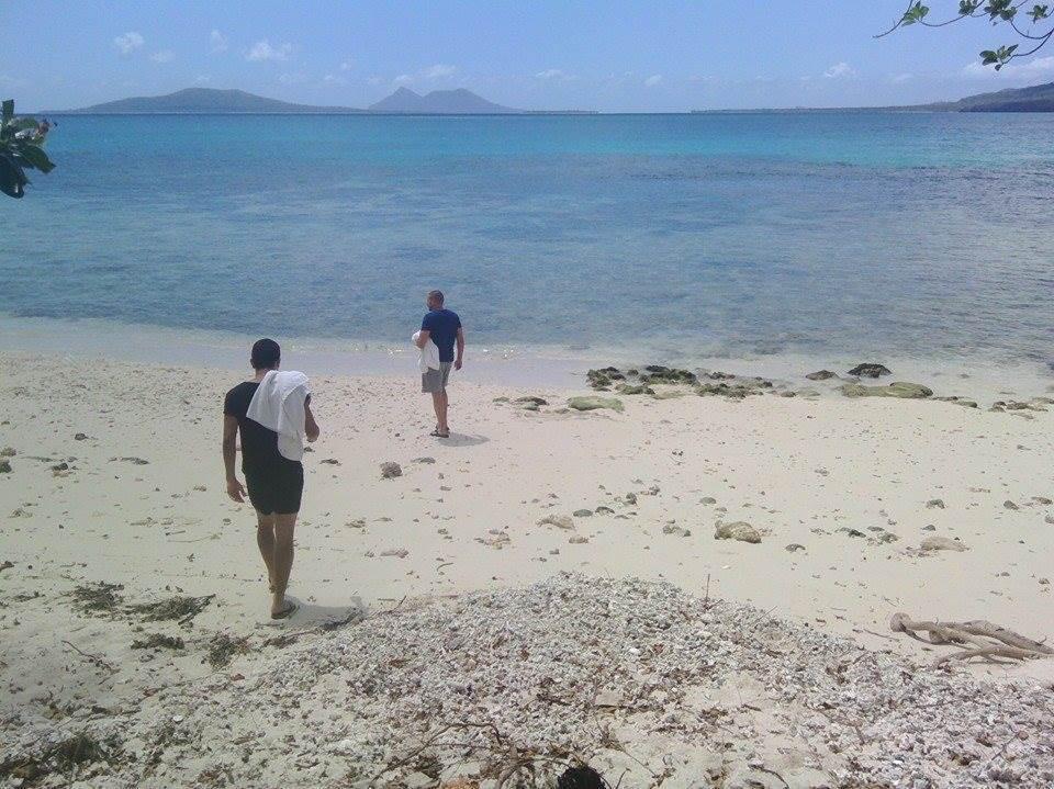 Odmor posle treninga u Vanuatuu.