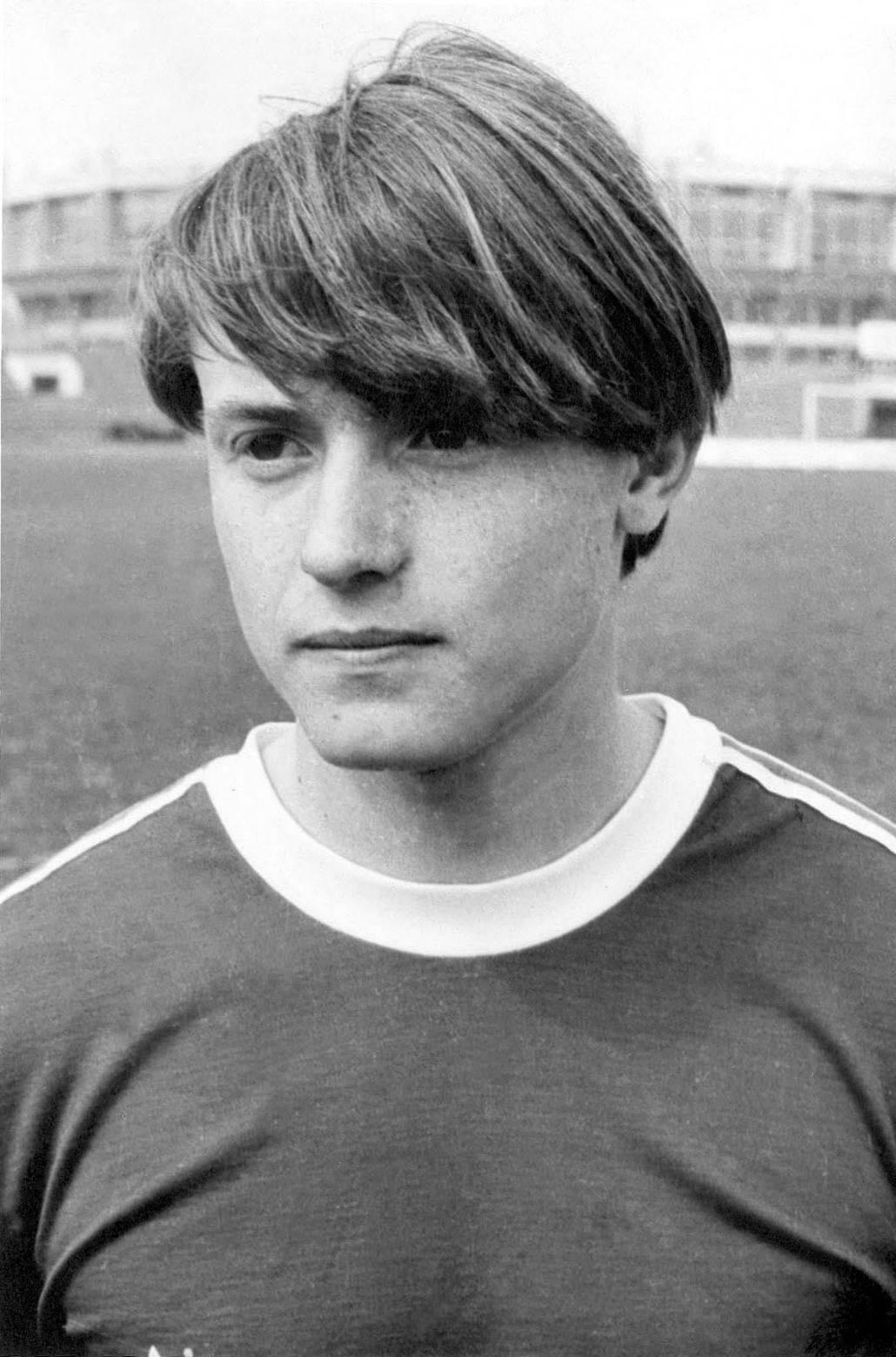 Dragan Stojković Piksi 1982. u Radničkom