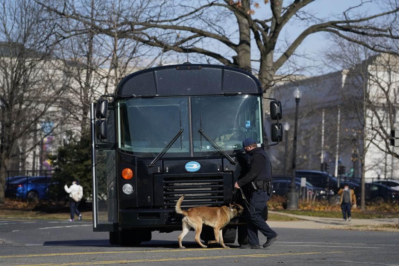 Vašington, SAD, policija, policijski pas, pretres