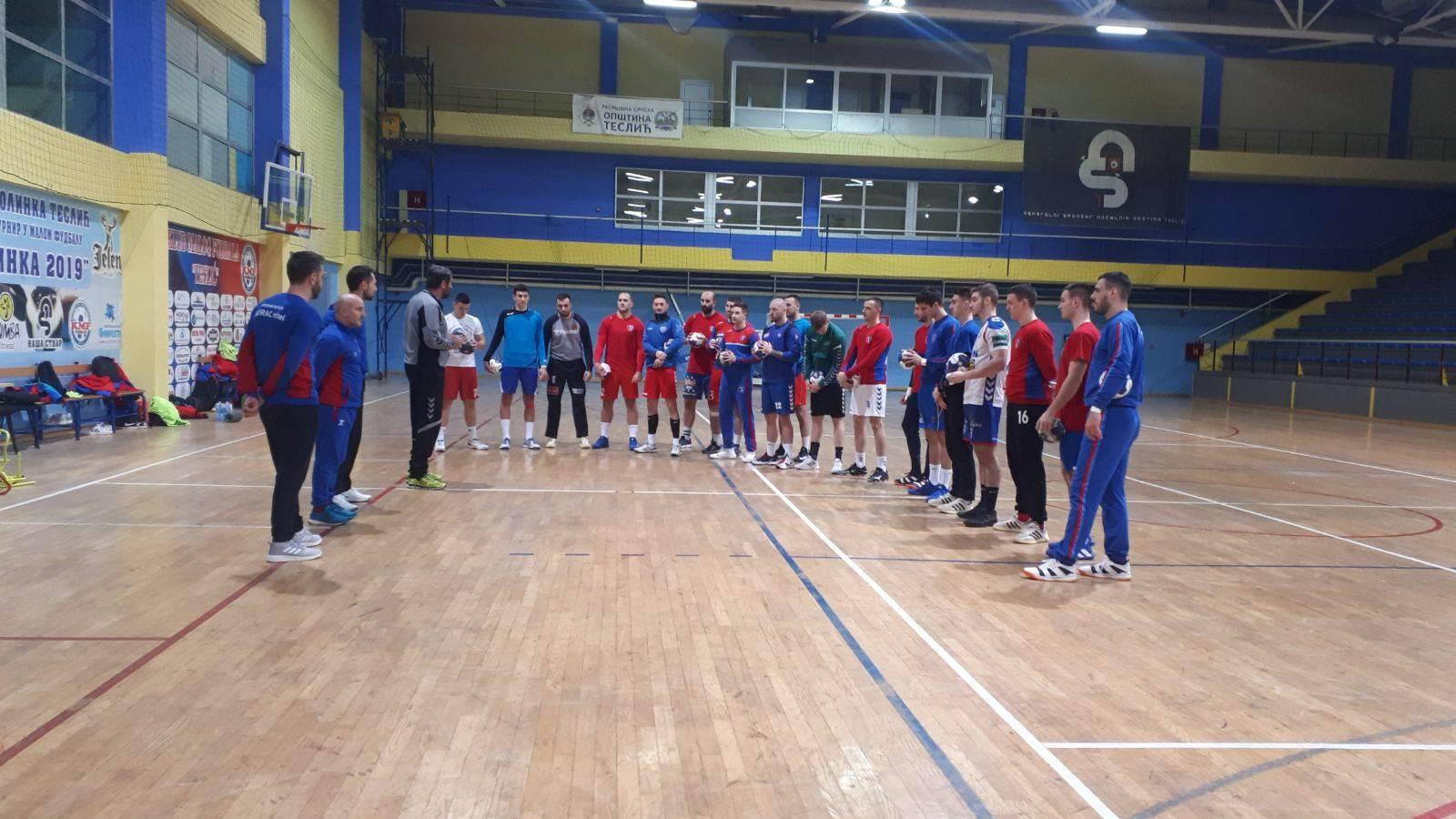 RK Borac m:tel trening