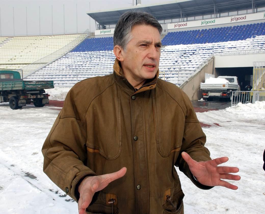 Dugogodšnji direktor stadiona Aleksandar Stepanović.