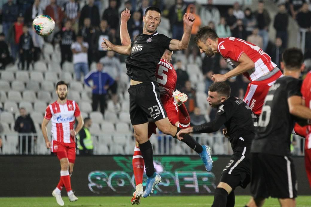 Nemanja Milunović je najbolji strelac Zvezde posle prekida.