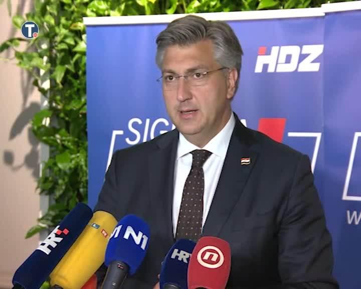 Plenković: Poštujem sve koji su dobili mandate, uključujemo zastupnike manjina u vladu