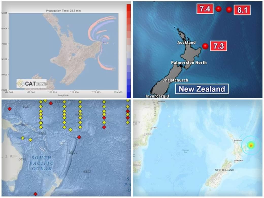 OSAM STEPENI PO RICHTERU! Treći jak zemljotres pogodio Novi Zeland, cunami prijeti i Havajima i Samoi
