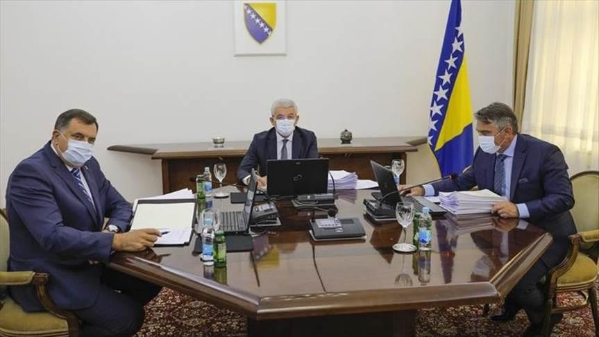 Dodik, Džaferović, Komšić