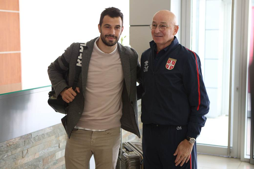 Luka Milivojević i Slavoljub Muslin.