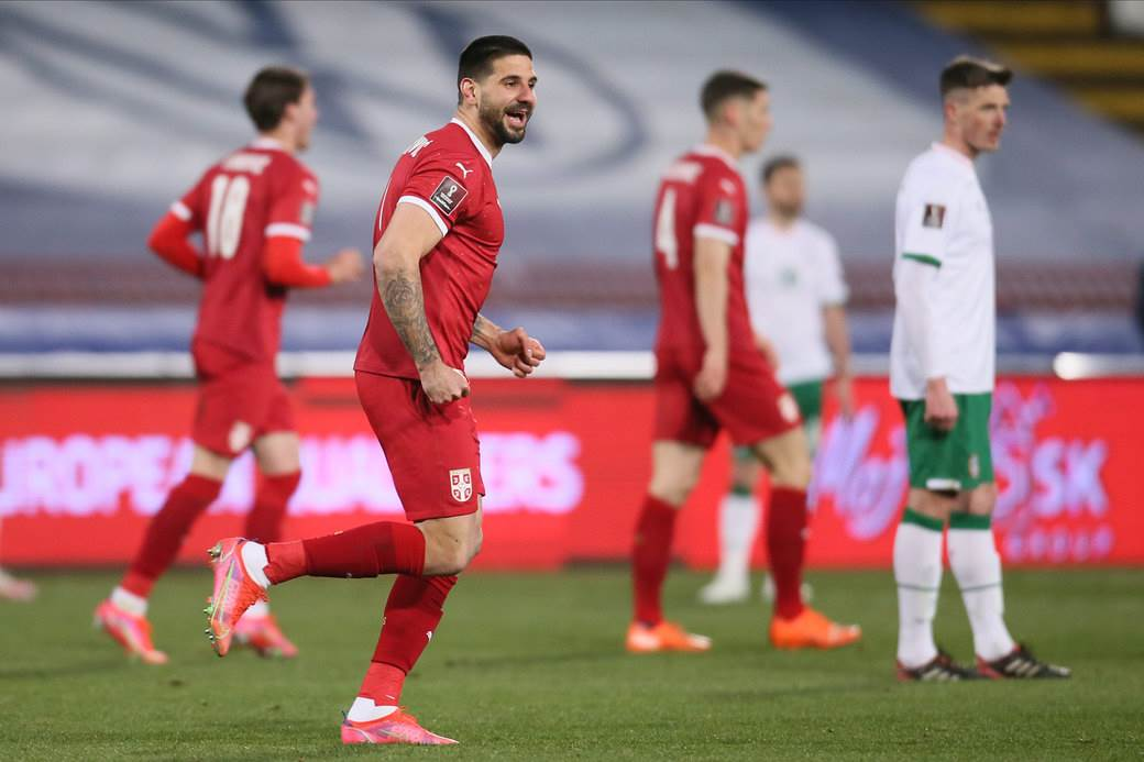 FOOTBALL;SERBIA;IRELAND;FIFA WORLD CUP QUALIFICATIONS MATCH