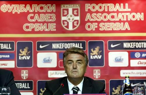 Radomir Antić predstavljen je u hotelu Hajat kao novi selektor fudbalske reprezentacije Srbije