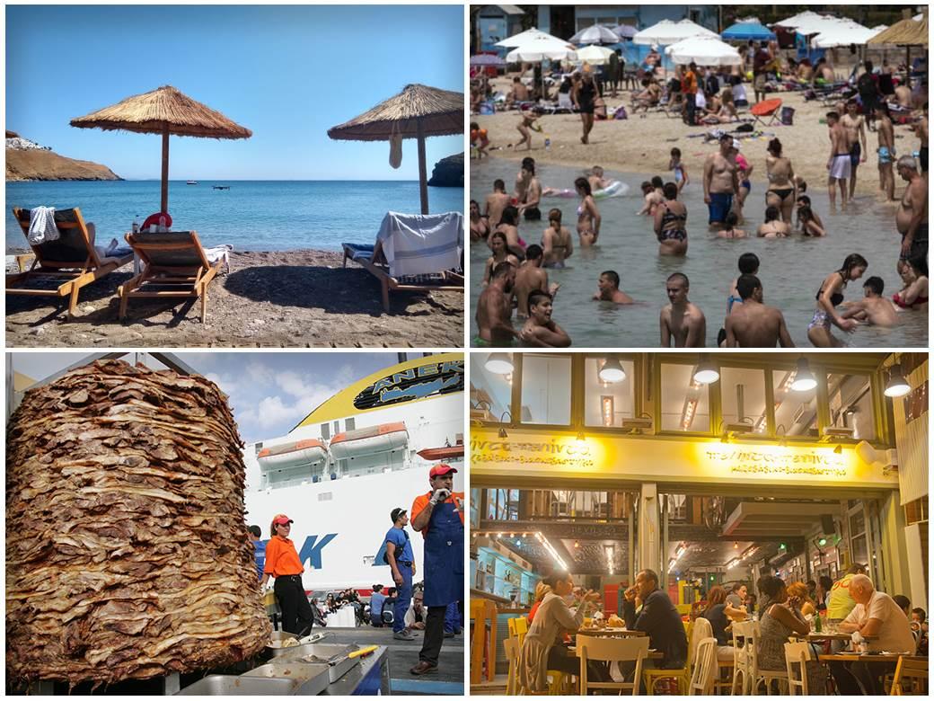 grčka,-giros,-plaža