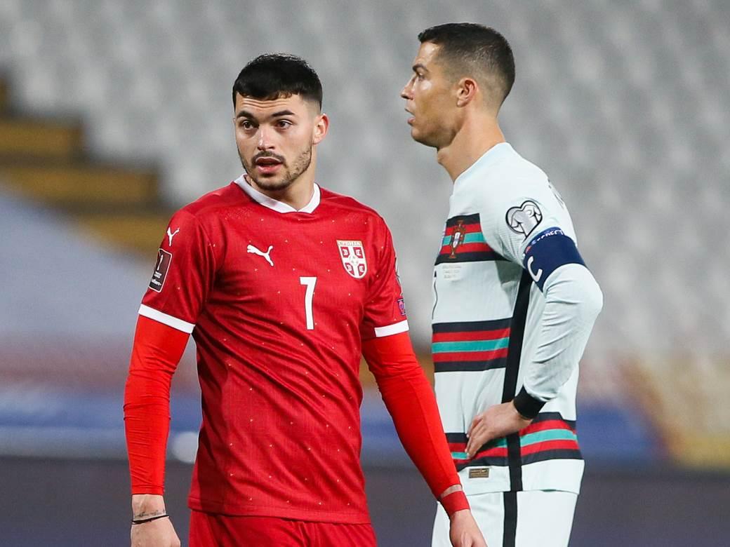 Nemanja Radonjić i Kristijano Ronaldo.