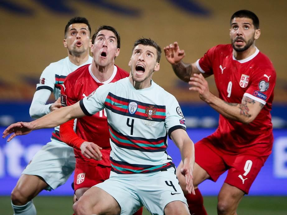 FOOTBALL;FUDBAL;KVALIFIKACIJE;QUALIFIERS;FIFA WORLD CUP;QATAR 2022;KATAR 2022;SVETSKO PRVENSTVO;SRBIJA;PORTUGAL