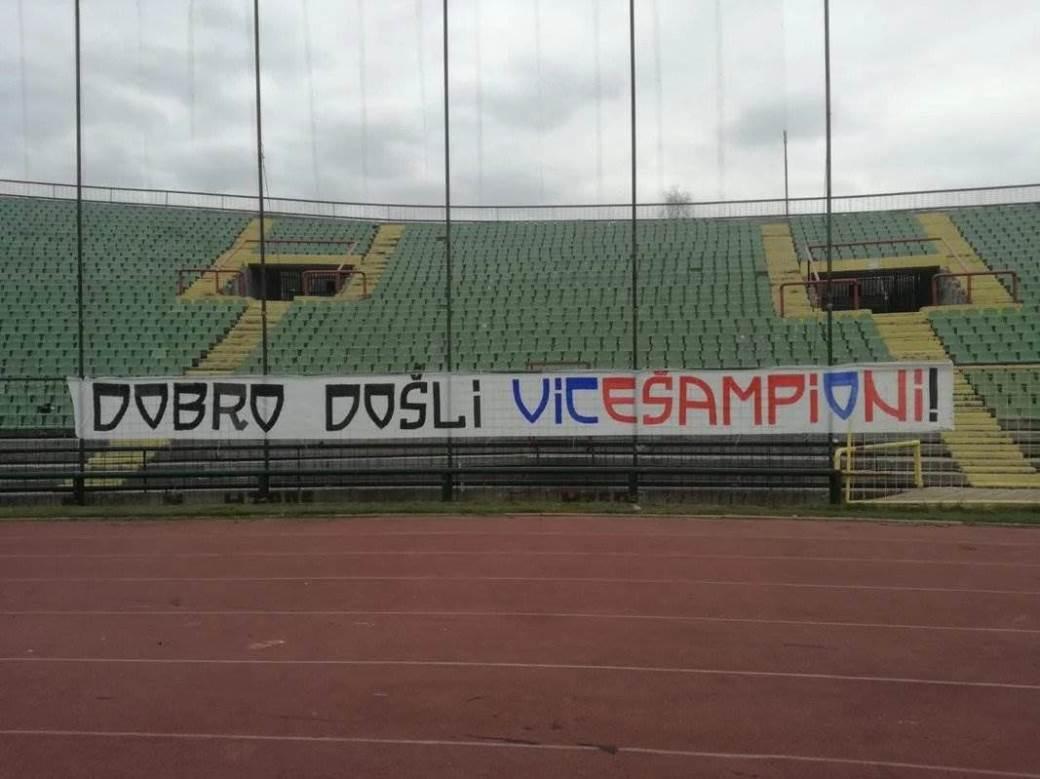 Poruka Sarajlija za FK Borac i Vicu Zeljkovića