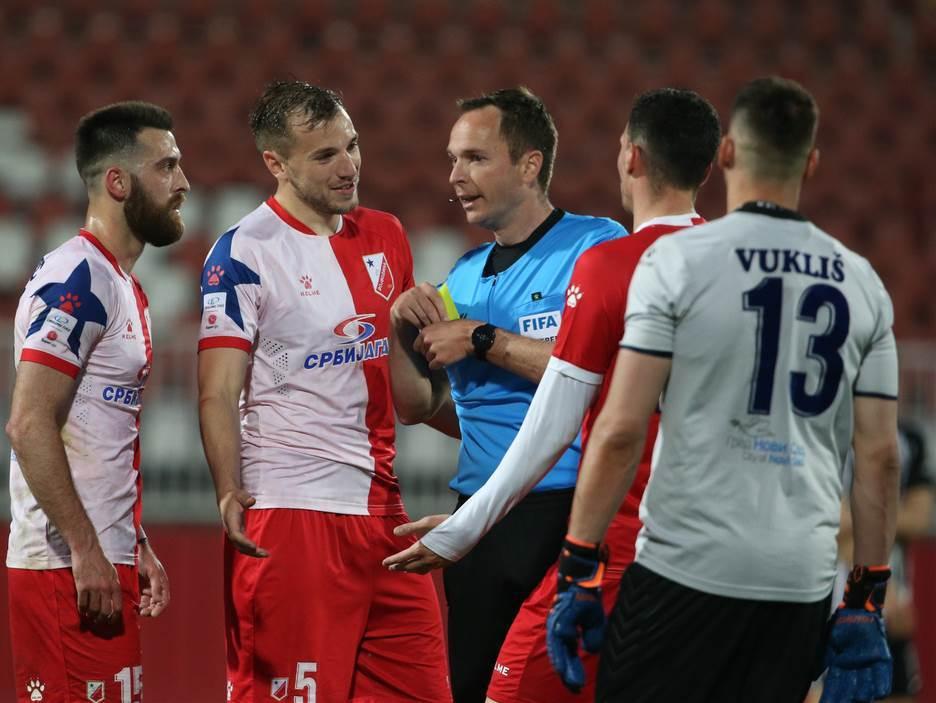 Srđan Jovanović Vojvodina Partizan