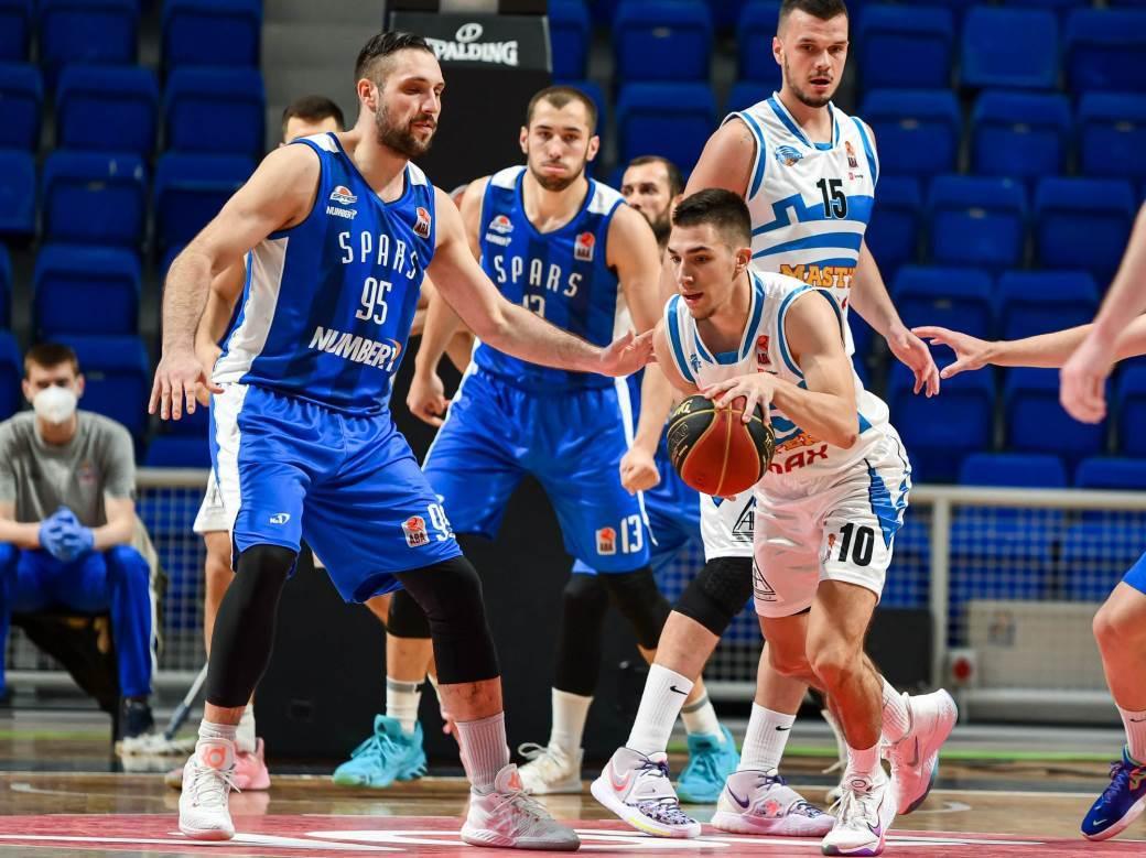 Podgorica - Spars, Druga ABA liga polufinale