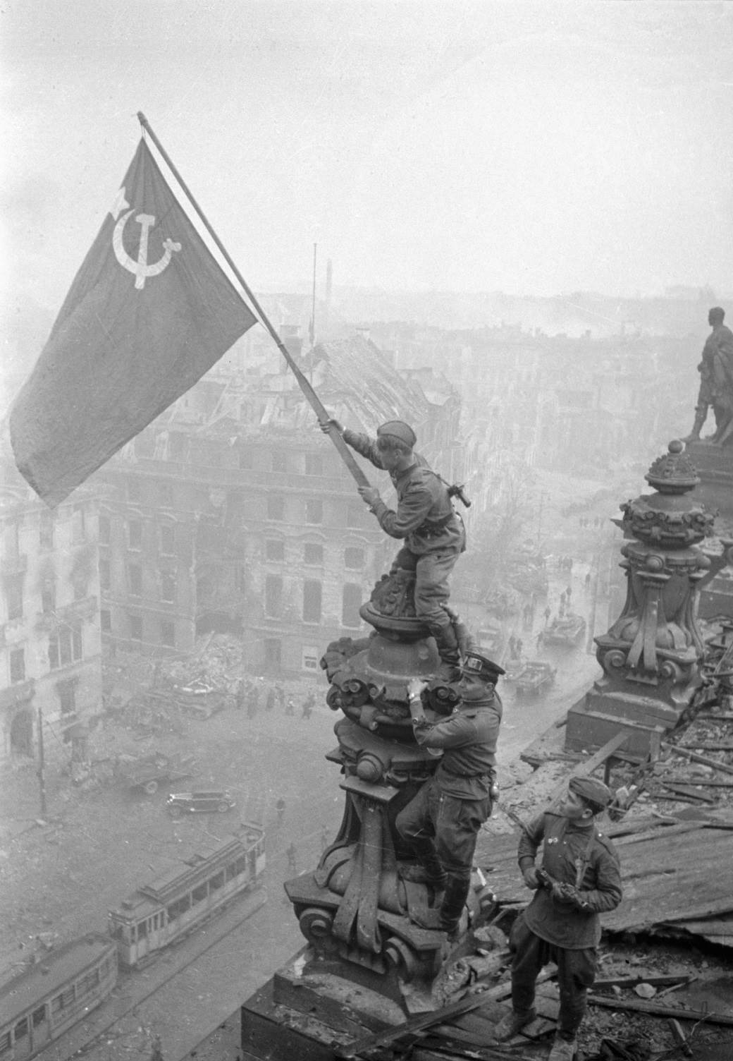 drugi svetski rat, rajhstag, rusi, zastava, berlin