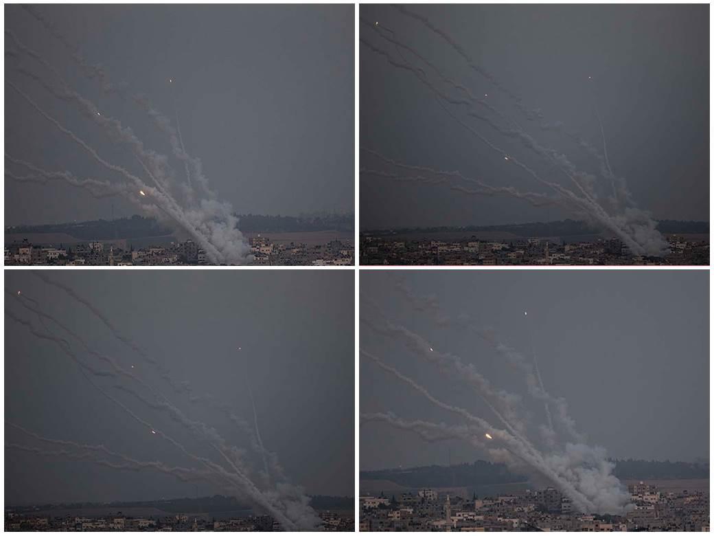 izrael,- bombardovanje, jerusalem, raketiranje, hamas