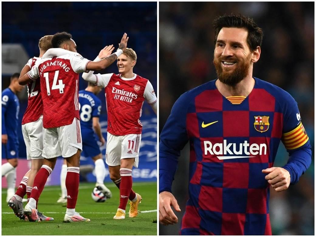 Arsenal Lionel Mesi