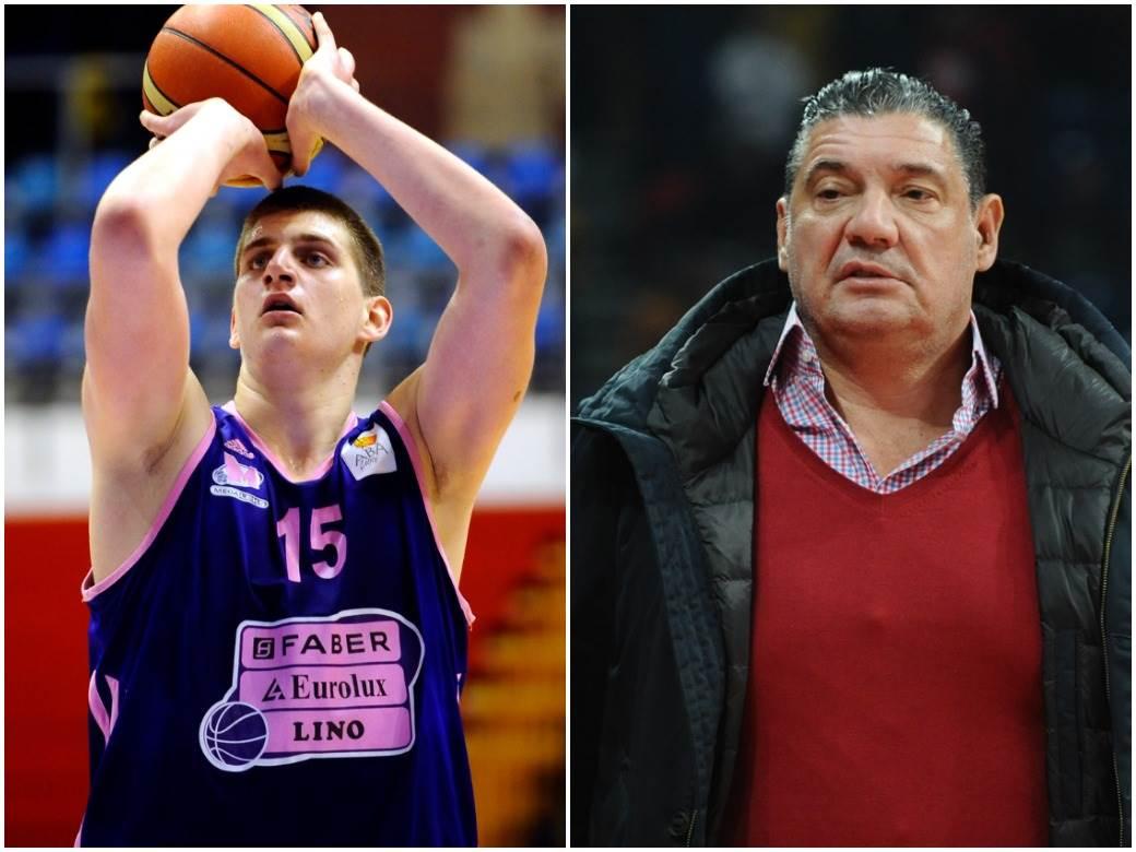 Miško Ražnatović i Nikola Jokić.