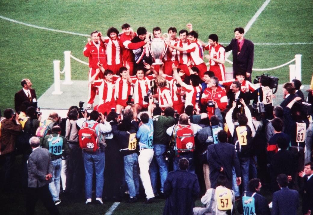 Zvezda je 29. maja 1991. osvojila Evropu.