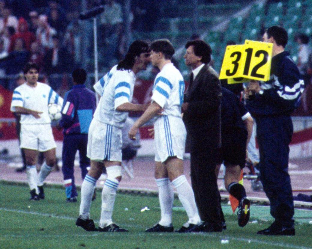 Dragan Stojković Piksi u finalu 1991. u Bariju.