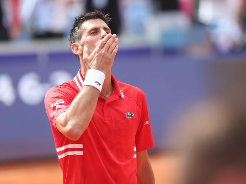 Najbolji teniser sveta Novak Đoković nakon osvajanja Serbia opena.
