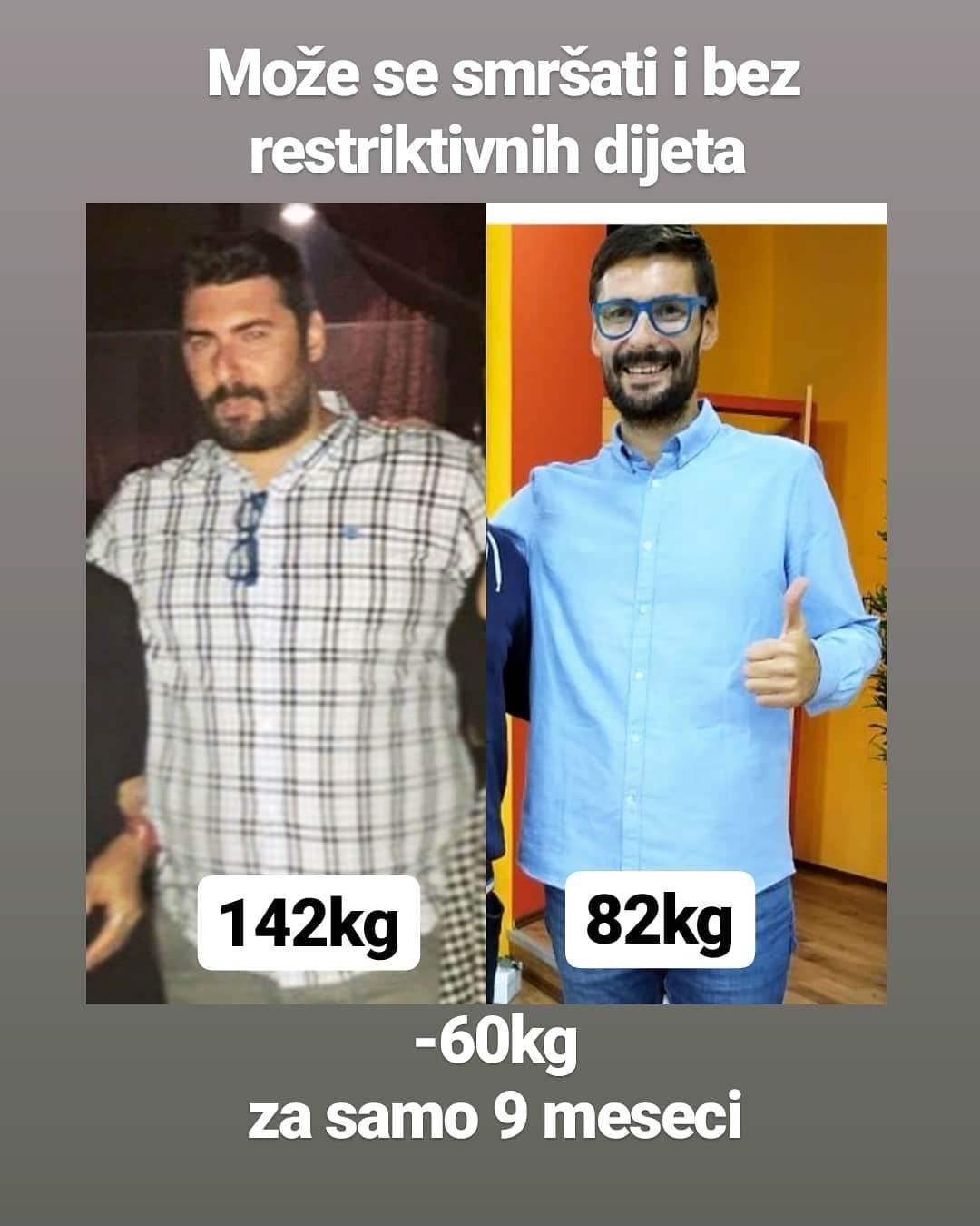 milan kicanski, mršavljenje, gubitak težine