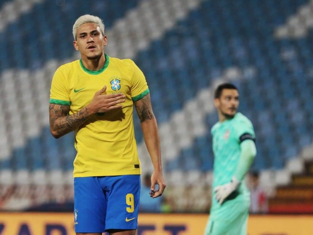 Fudbal brazil srbija