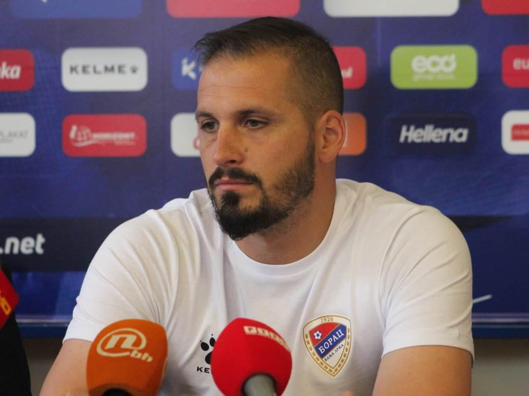 FK Borac početak priprema