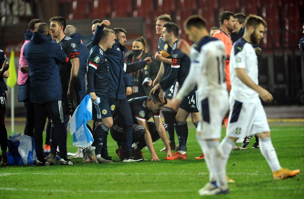 Srbija - Škotska 4:5 posle penala.
