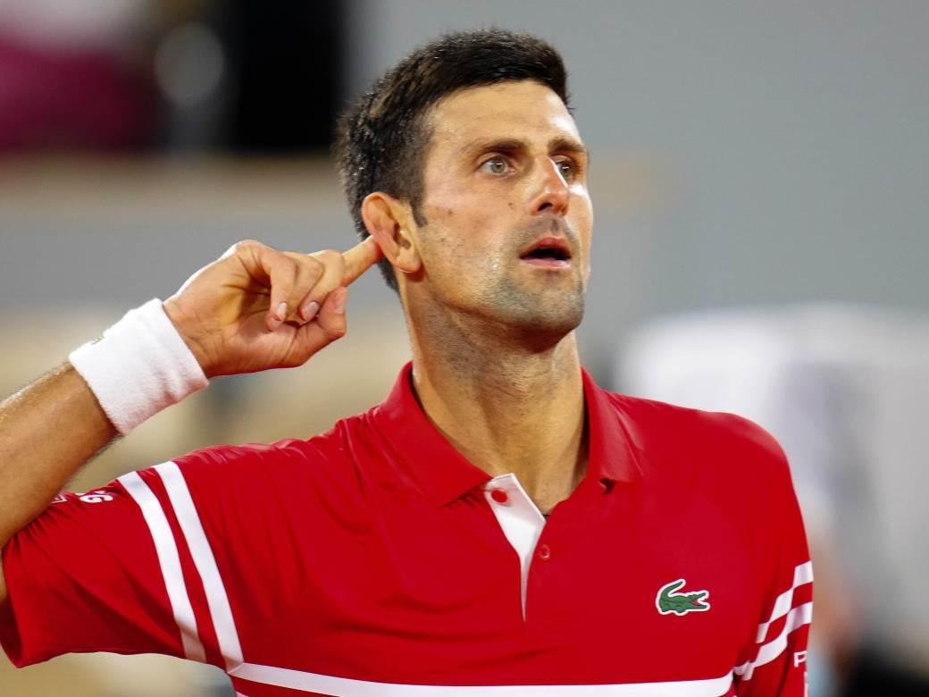 Novak Đoković na Rolan Garosu
