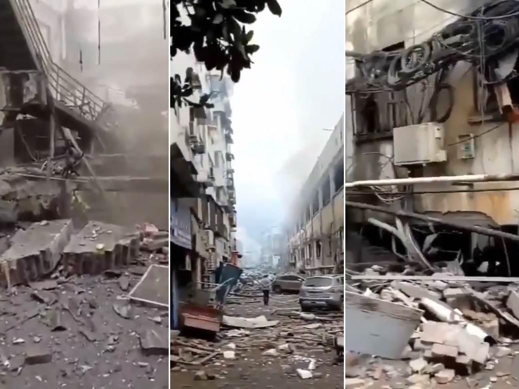 kina eksplozija