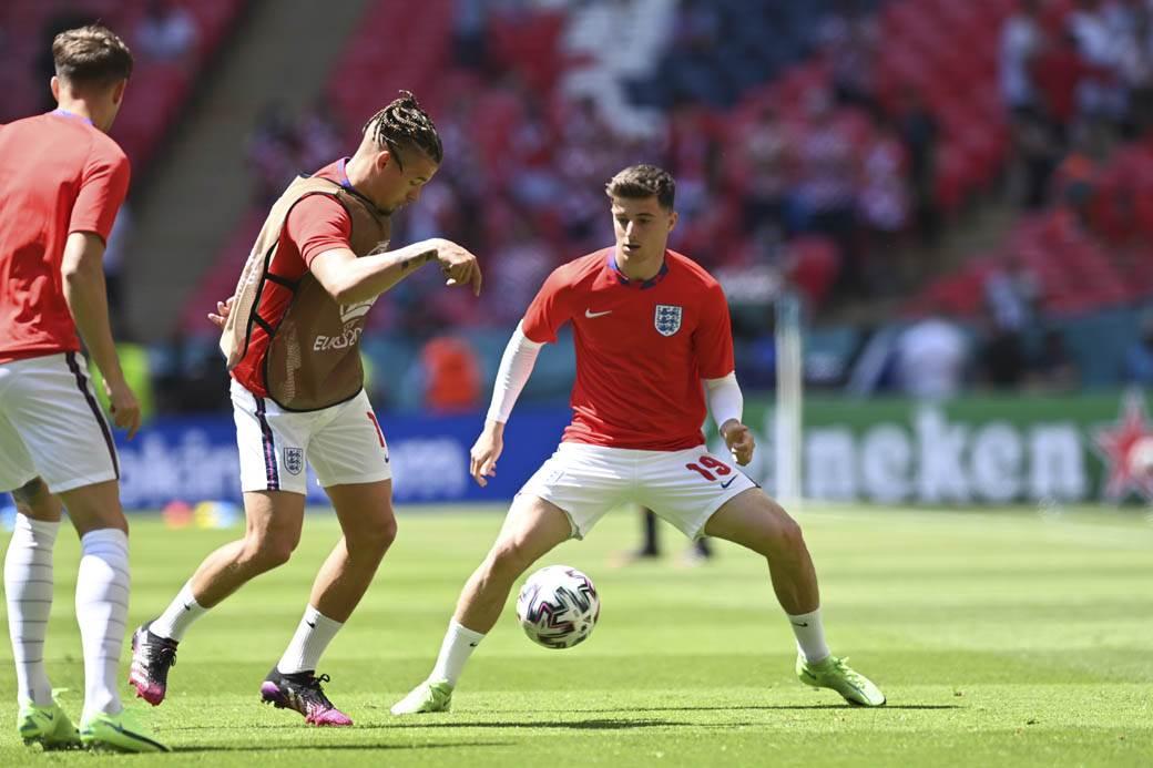 engleska fudbal euro 2020 zagrevanje
