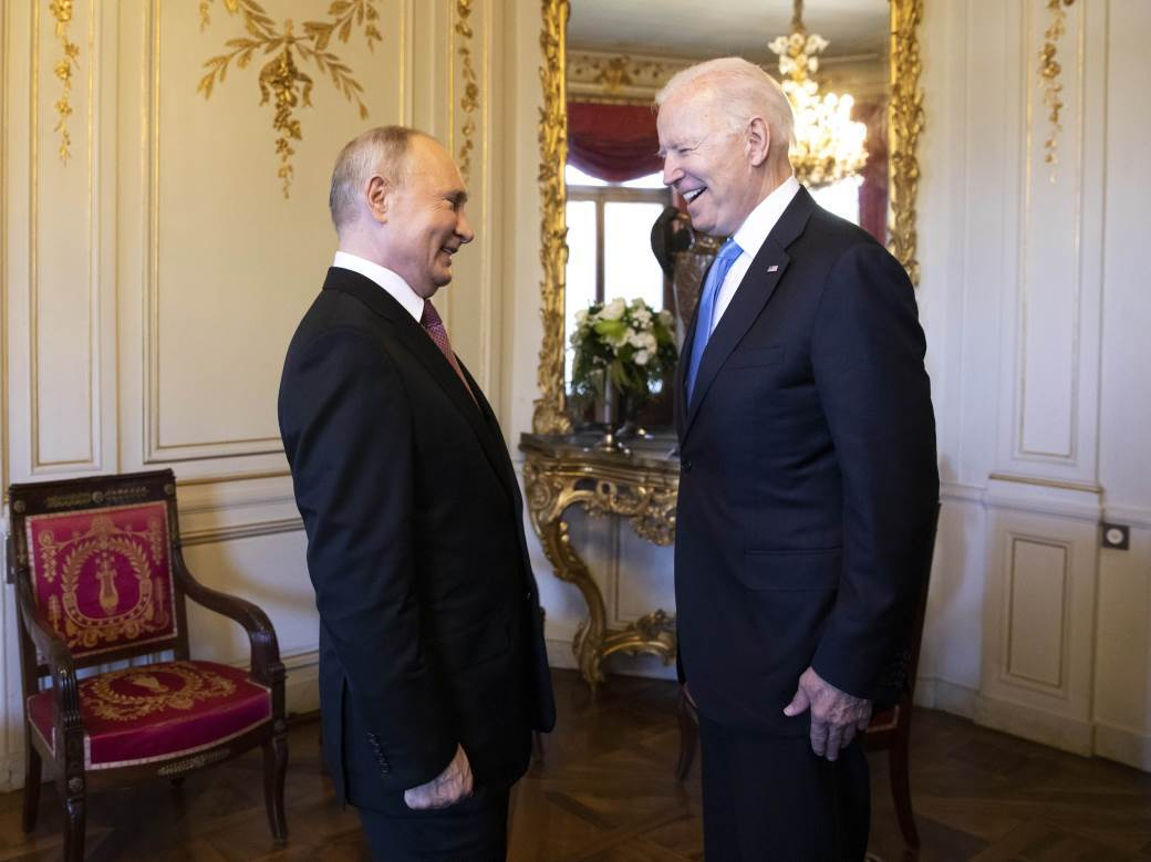Vladimir Putin, Džo Bajden