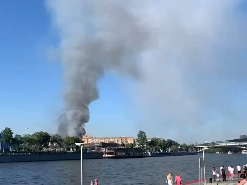 moskva požar