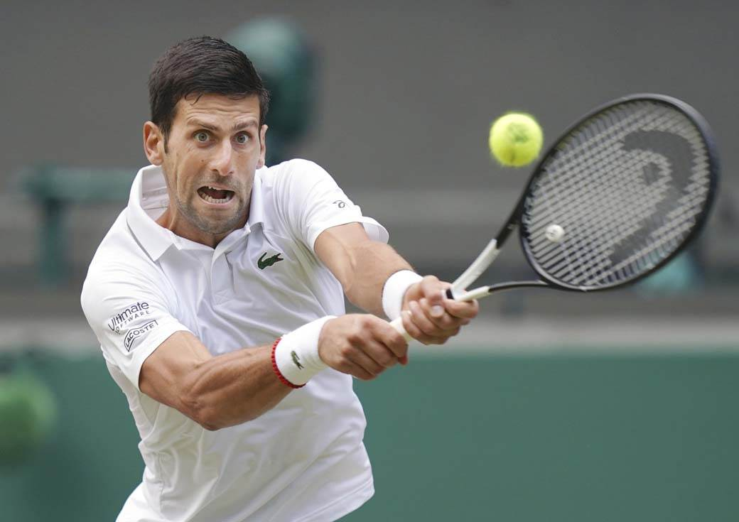 Novak Đoković, Novak Djokovic, Wimbledon, 2019 (6)