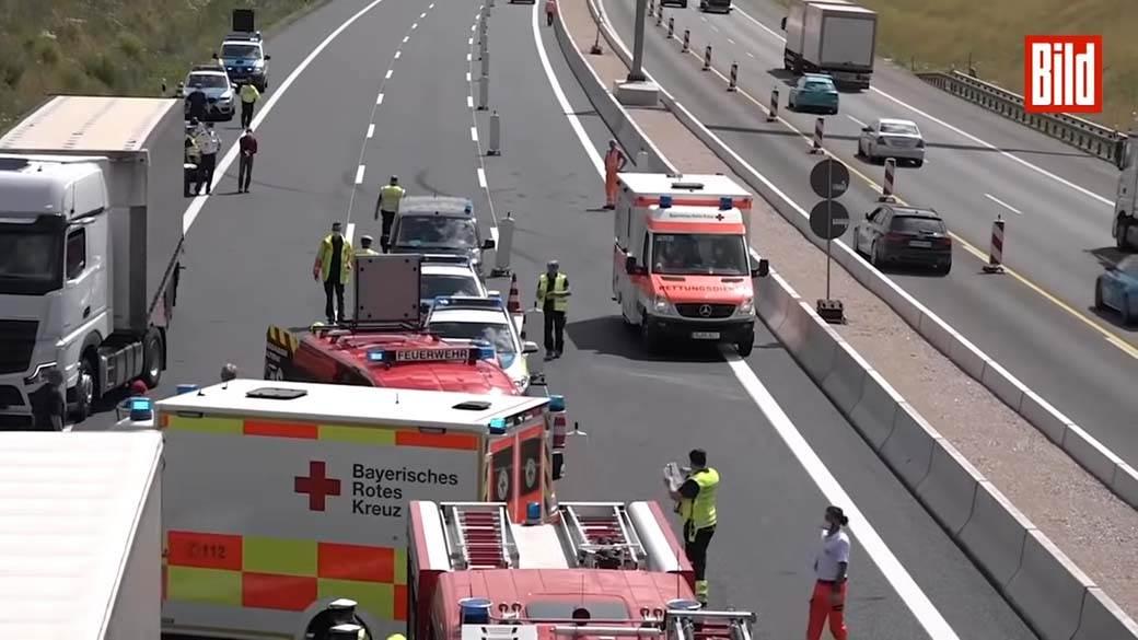 Auto Trke, nesreća, kamion, saobraćajna nesreća (1)