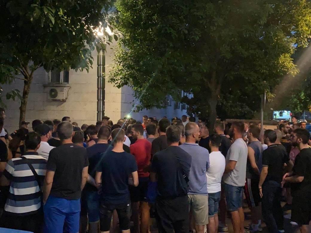 Podgorica, protest