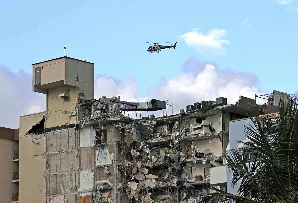 Champlain Towers , Majami, Zgrada, srušena zgrada (12)