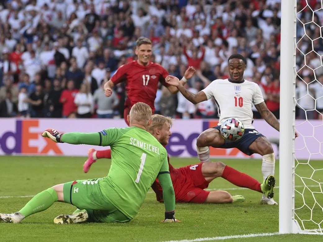 gol engleska danska evropsko prvenstvo