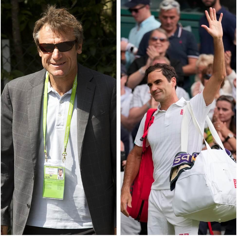 Mats Vilander, Rodžer Federer