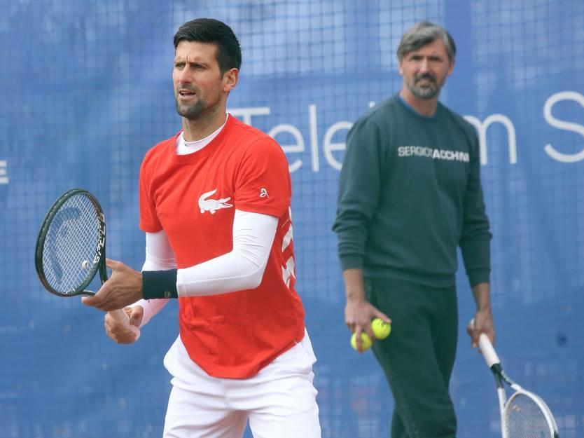Novak Đoković Goran Ivanišević