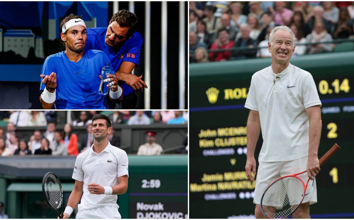 Nadal, Federer, Đoković i Mekinro