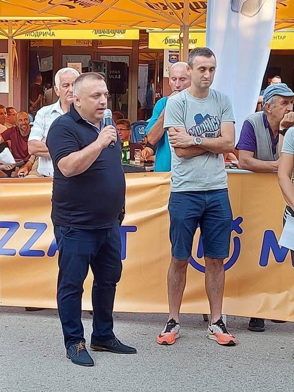 treća ulična trka u Modriči