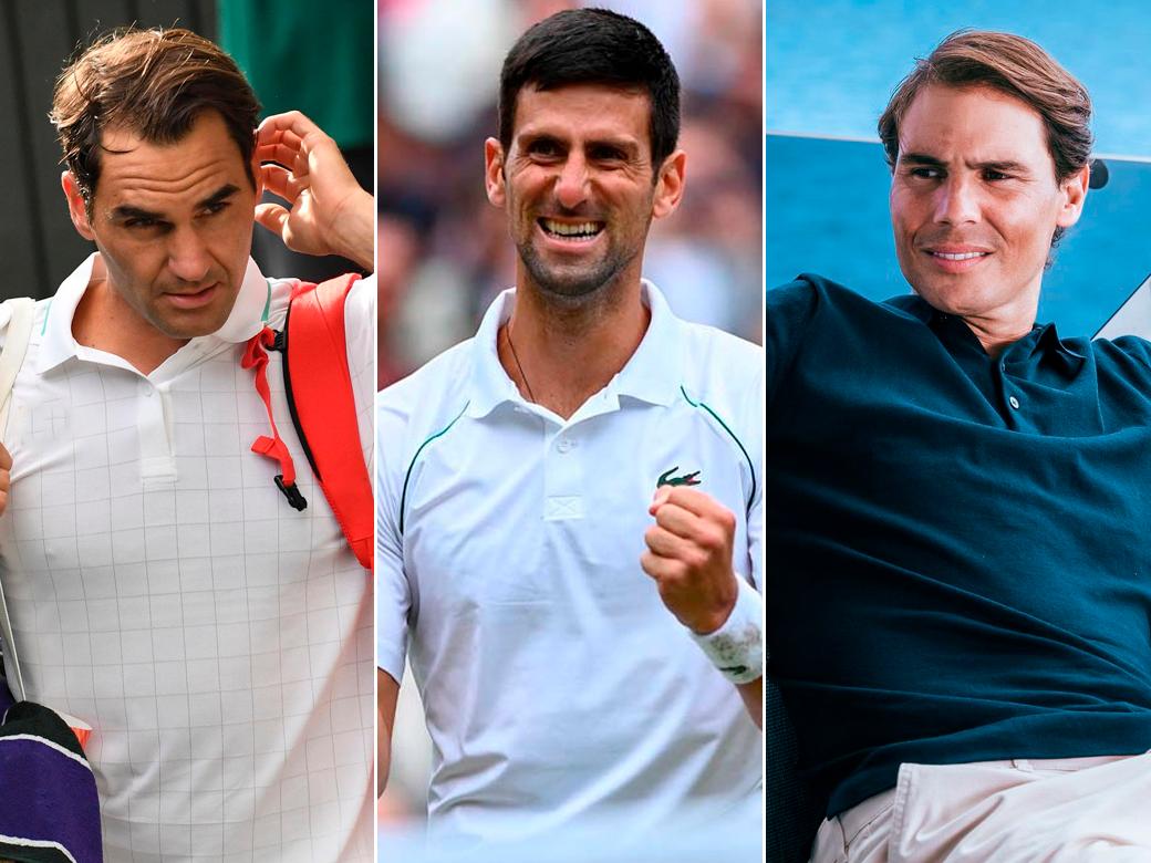 Novak Nadal Federer